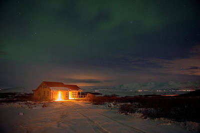 Poster featuring the photograph A Place For The Night, South Of Iceland by Dubi Roman