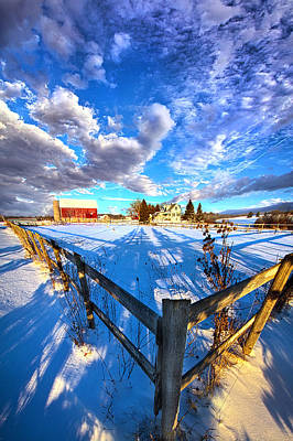 A Place To Call Home Poster by Phil Koch