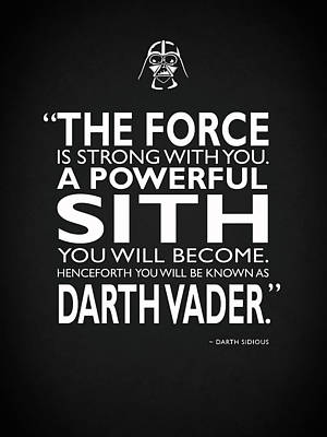 A Powerful Sith Poster