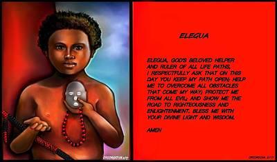 A Prayer To Elegua Poster