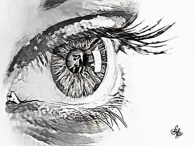 A Prayerful Eye Poster