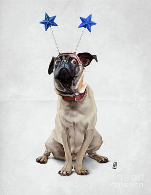A Pug's Life Wordless Poster