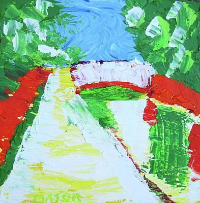 A Putah Creek Bridge Poster