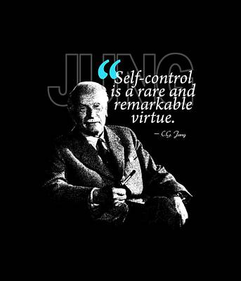 A Quote From Carl Gustav Jung Quote #24 Of 50 Available Poster by Garaga Designs