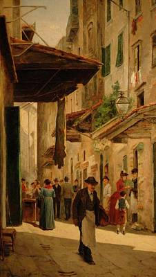 A Rendezvous In The Uffizi Poster