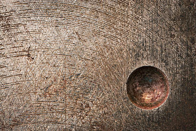 A Round Hole In The Iron Poster by Jozef Jankola