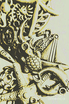A Sailors Charm Poster