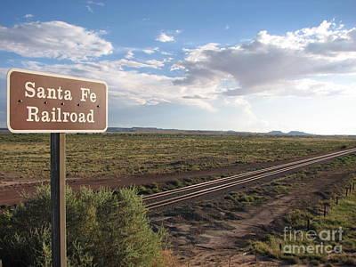 A Santa Fe Perspective Poster