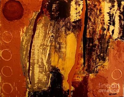 A Scorcher Hot Day Poster by Marsha Heiken