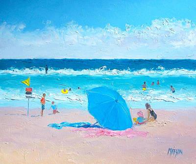 A Sea Breeze Poster by Jan Matson