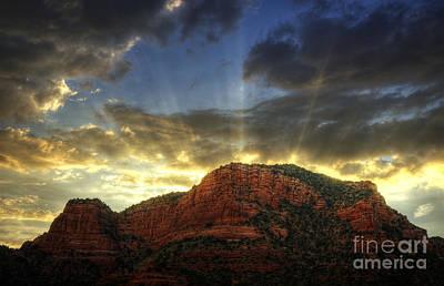 A Sedona Sunset Poster