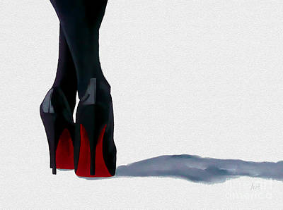 A Shade Of Louboutin Poster