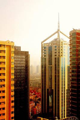 A Shanghai Sunset Poster
