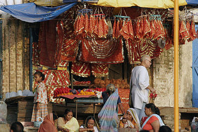 A Shop At The Ghat Poster