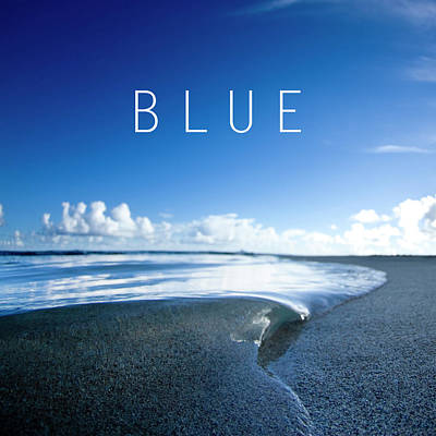 Blue. Poster