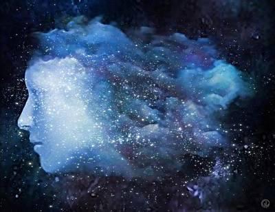A Soul In The Sky Poster by Gun Legler