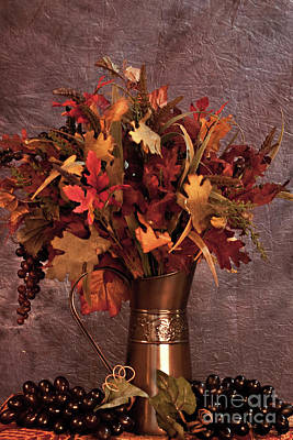 A Still Life For Autumn Poster by Sherry Hallemeier