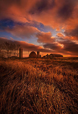 A Stones Throw Poster by Phil Koch