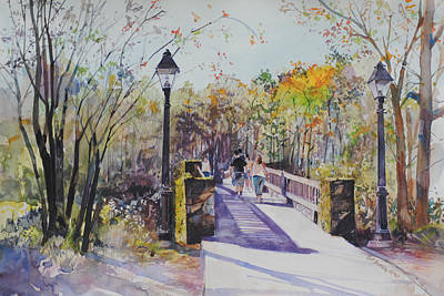 A Stroll On The Bridge Poster