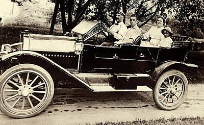 A Sunday Drive - Around 1910 Poster