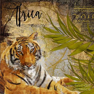 A Taste Of Africa Tiger Poster
