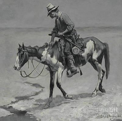 A Texas Pony, 1889  Poster
