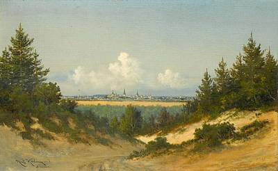 A View Of Tallinn Poster