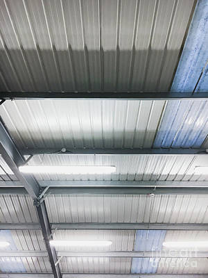 A Warehouse Ceiling Poster