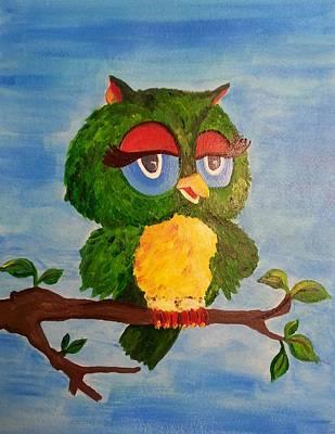 A Wise Bird Poster