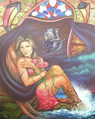 Abana Travel Poster by Jorge L Martinez Camilleri