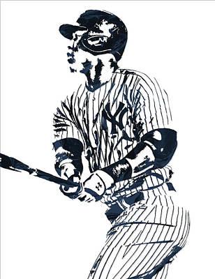 Aaron Judge New York Yankees Pixel Art 11 Poster
