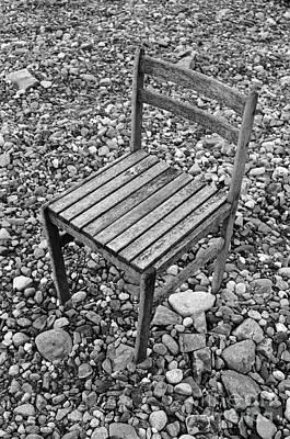 Abandon Chair Series - Among Rocks Poster