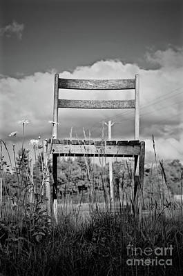 Abandon Chair Series Poster