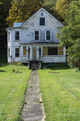 Abandoned Home, Lyndon, Vt. Poster