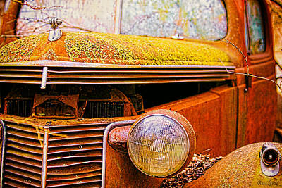 Abandoned Antique Truck 2 Poster