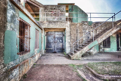 Abandoned Battery Mendell At Fort Barry - California Poster by Jennifer Rondinelli Reilly - Fine Art Photography