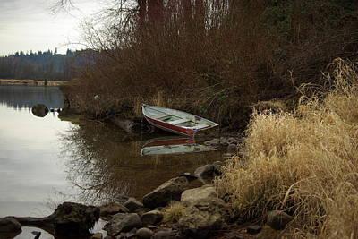 Abandoned Boat II Poster