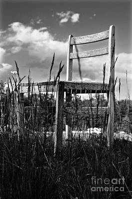 Abandoned Chair  Poster