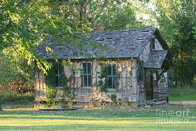 Abandoned Cottage Poster