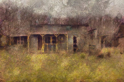 Abandoned Country Home Poster by Mario Carini