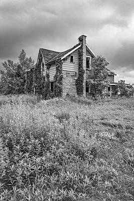 Abandoned Dreams Bw Poster
