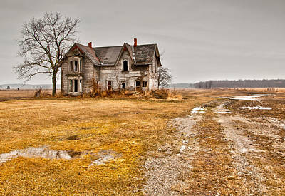 Abandoned Farm House Poster by Cale Best