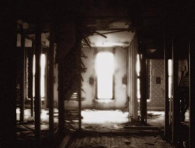 Abandoned Flophouse In Denver Poster