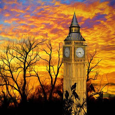Abandoned London 2 Poster by Sharon Lisa Clarke