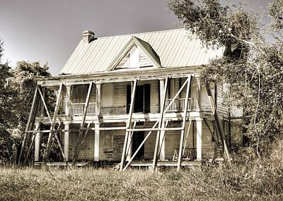 Abandoned Plantation House #2 Poster by Andrew Crispi