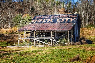 Abandoned Rock City Barn Poster by Debra and Dave Vanderlaan