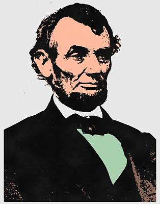 Abe Lincoln 2 Poster by Otis Porritt