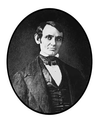 Abe Lincoln As A Young Man  Poster