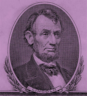 Poster featuring the photograph Abe On The 5 Pink by Rob Hans
