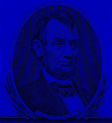 Poster featuring the photograph Abe On The 5 Violet by Rob Hans